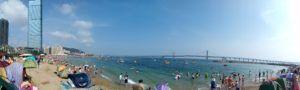 пляж Далянь
